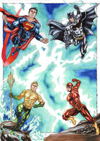 Justice League! by ChrisPapantoniou
