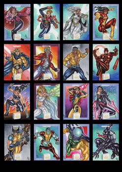 Marvel Flair 2019 vol1!!
