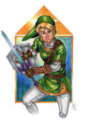 Link! Legend of Zelda!!