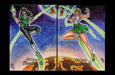 DC Bombshells - Green Lantern and Arisia APs