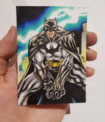 Batman Personal Sketch Card