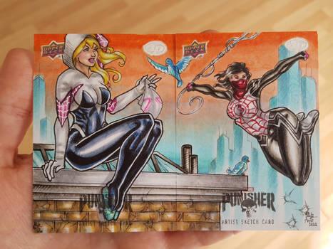 Spider-Gwen and Silk AP!