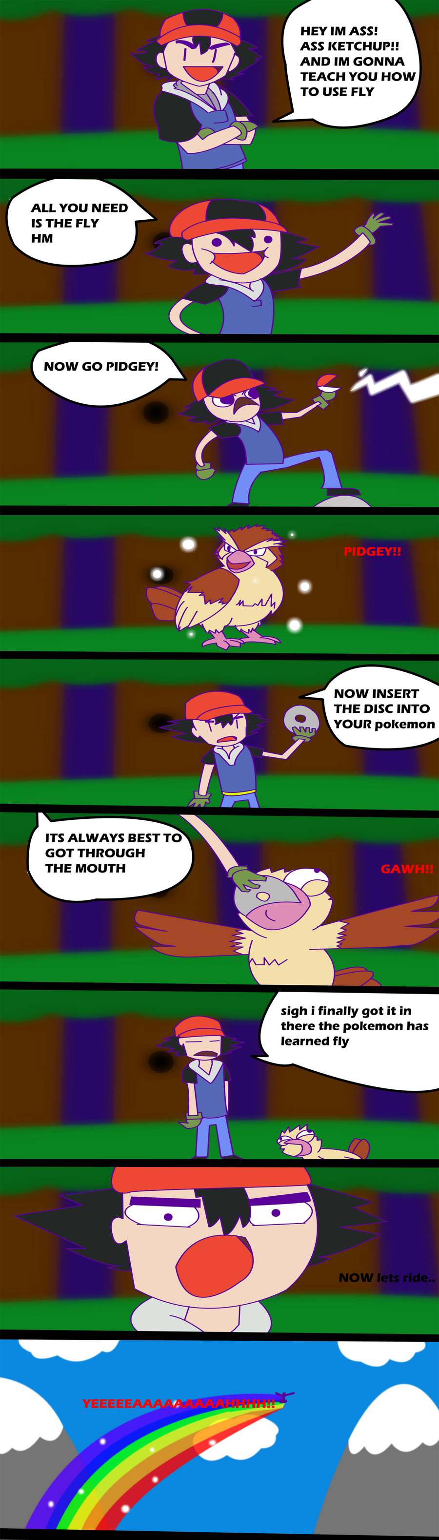 pokemon emerald how to fly