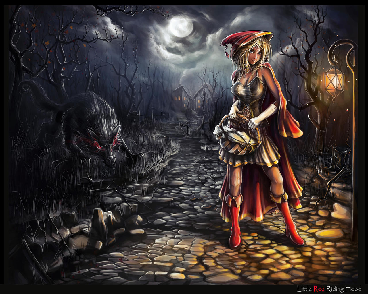 Little Red Riding Hood by haryarti