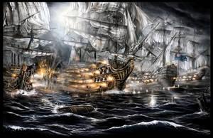 Epic Battle by haryarti