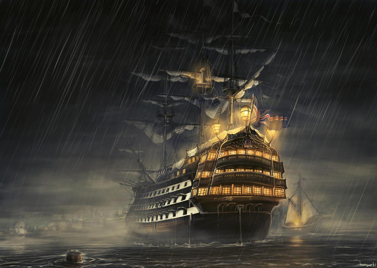 Rain by haryarti