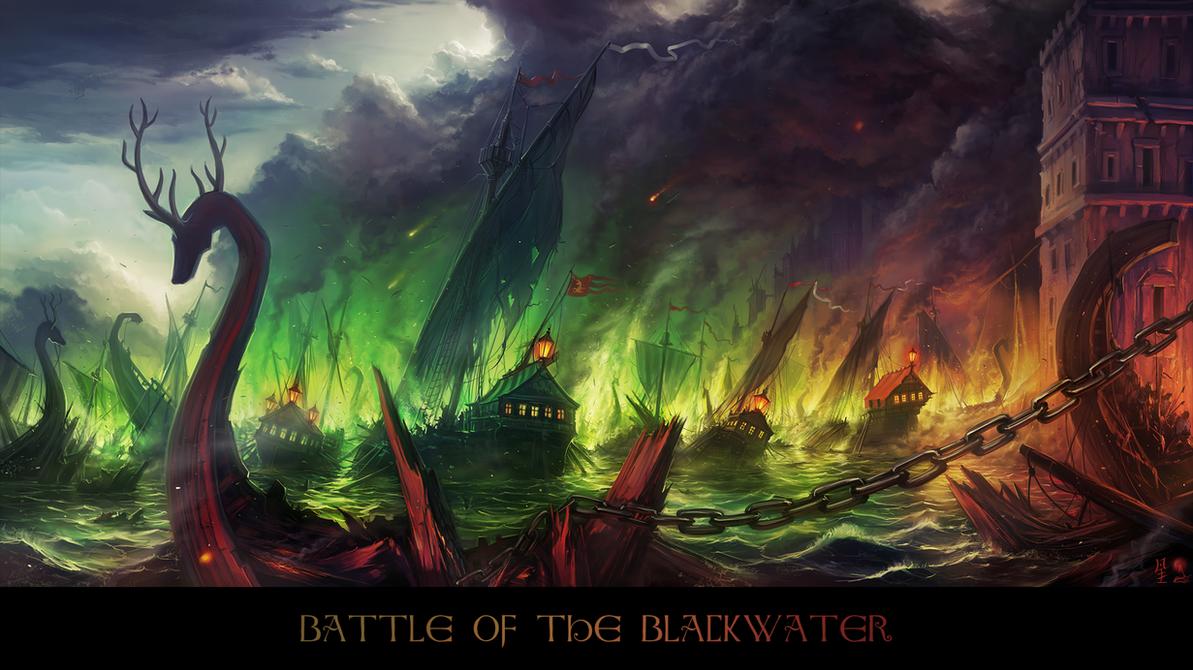Battle of the Blackwater by haryarti