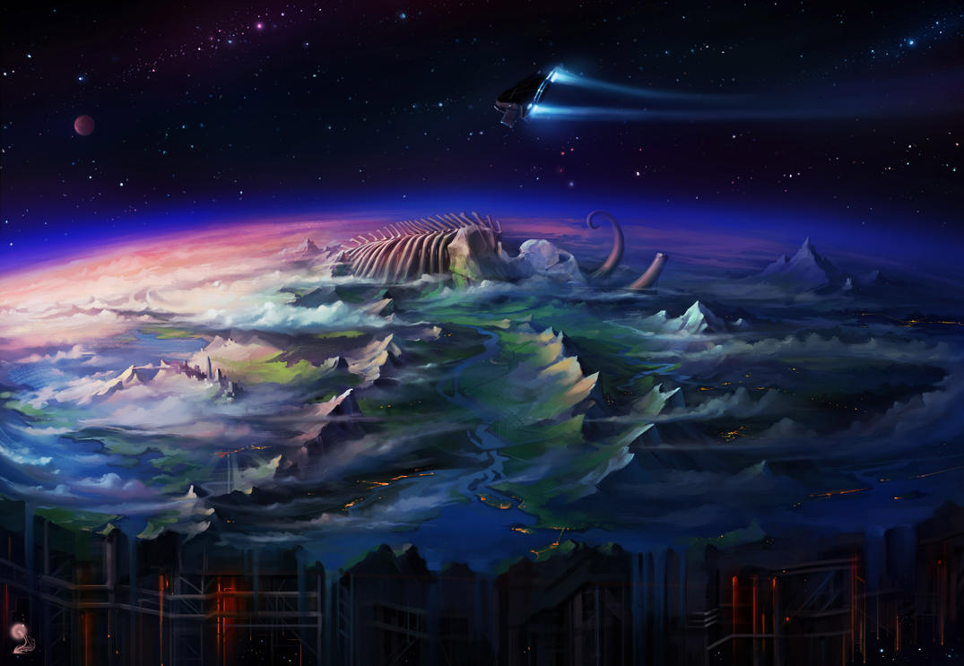 Flat world by haryarti