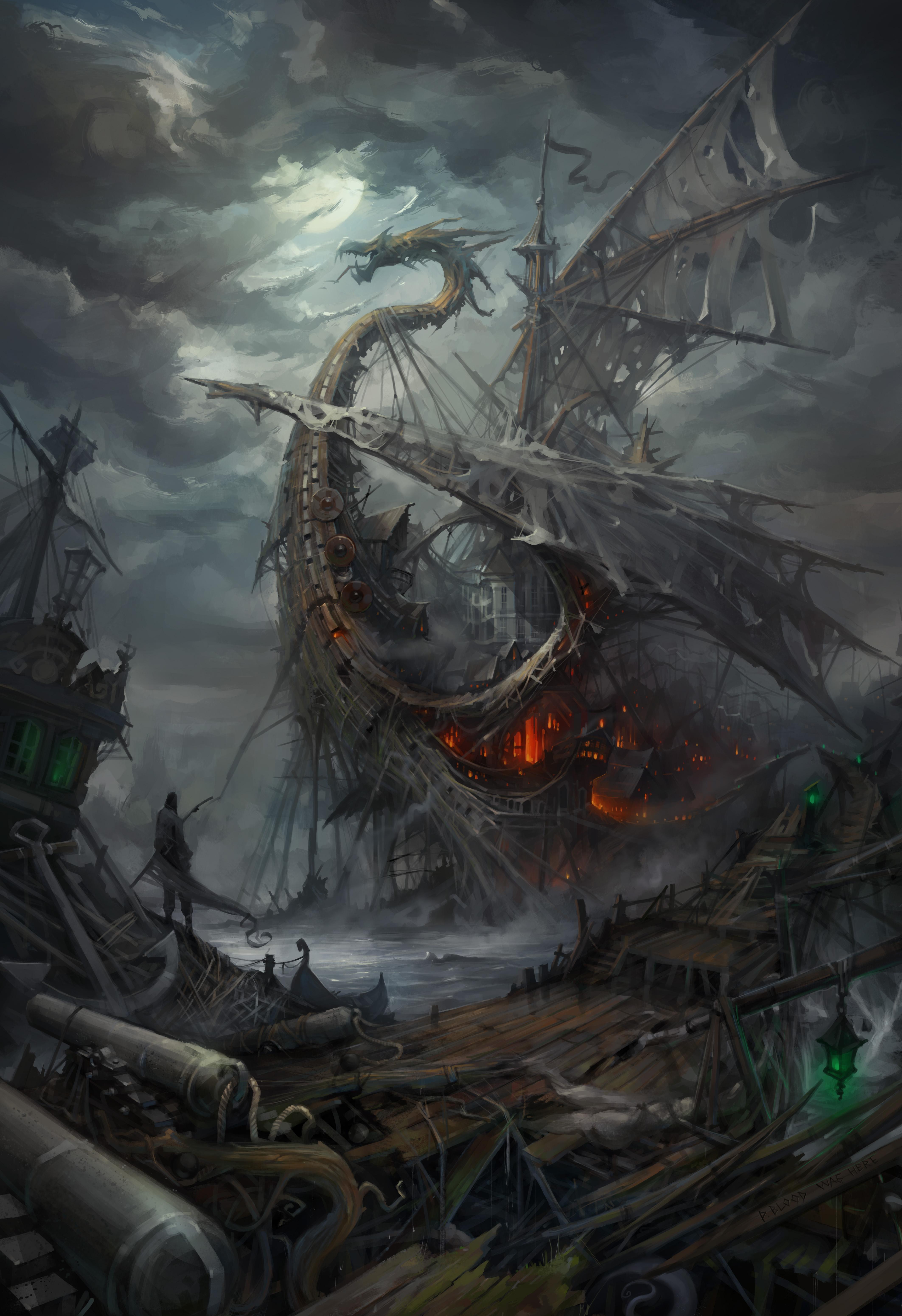 Lost ships by haryarti
