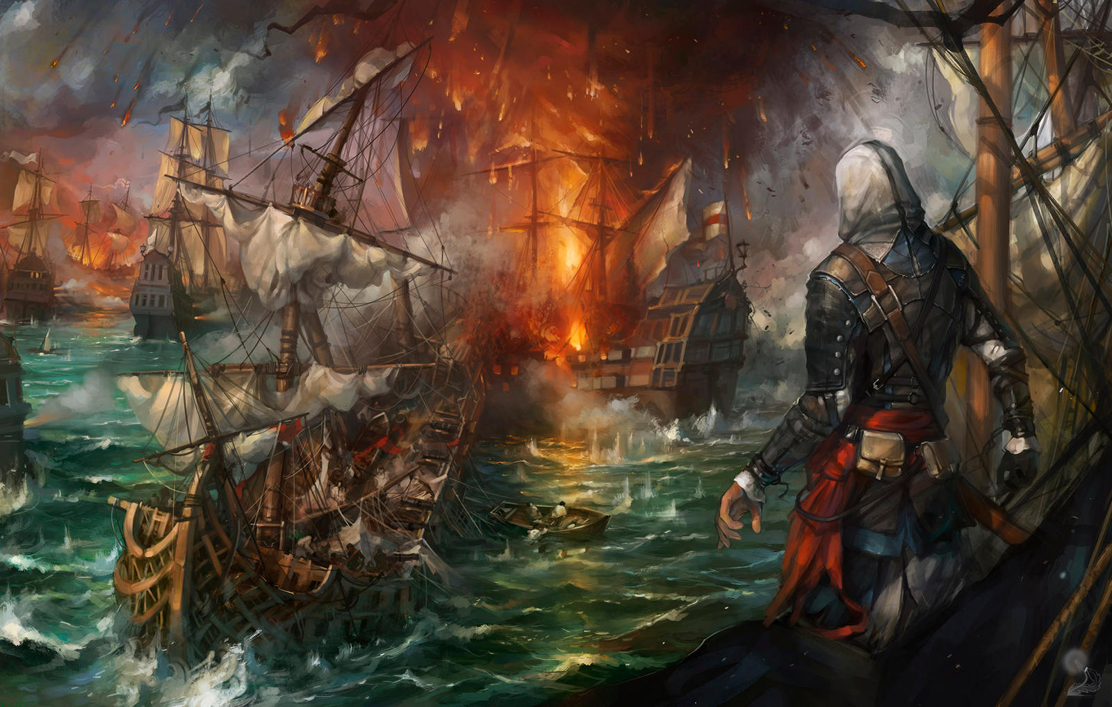 Assassins Creed Iv Black Flag Fanart By Haryarti On Deviantart