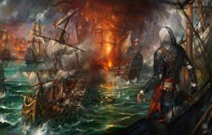 Assassins Creed IV Black Flag fanart by haryarti