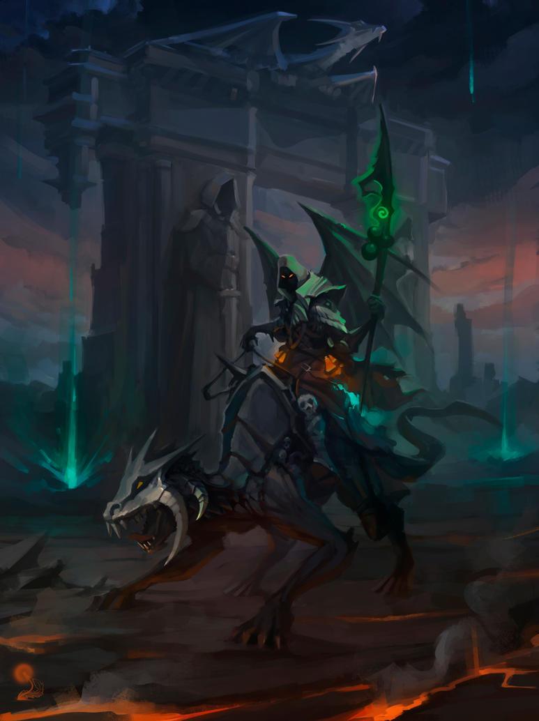 Death Knight by haryarti