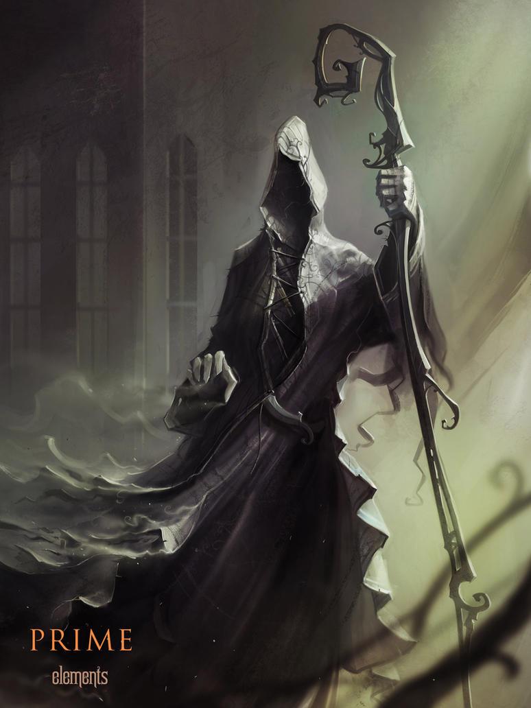 Death Element by haryarti