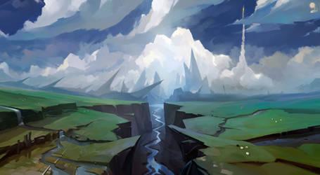 Speedpaint: River