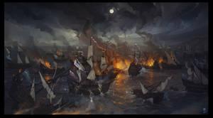 The Battle of Viborg Bay by haryarti