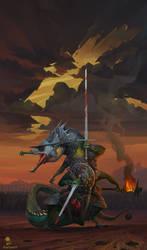 Croc Warrior by haryarti