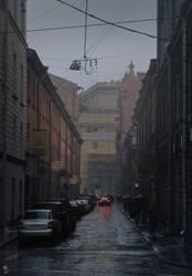 Here Comes The Rain Again by haryarti