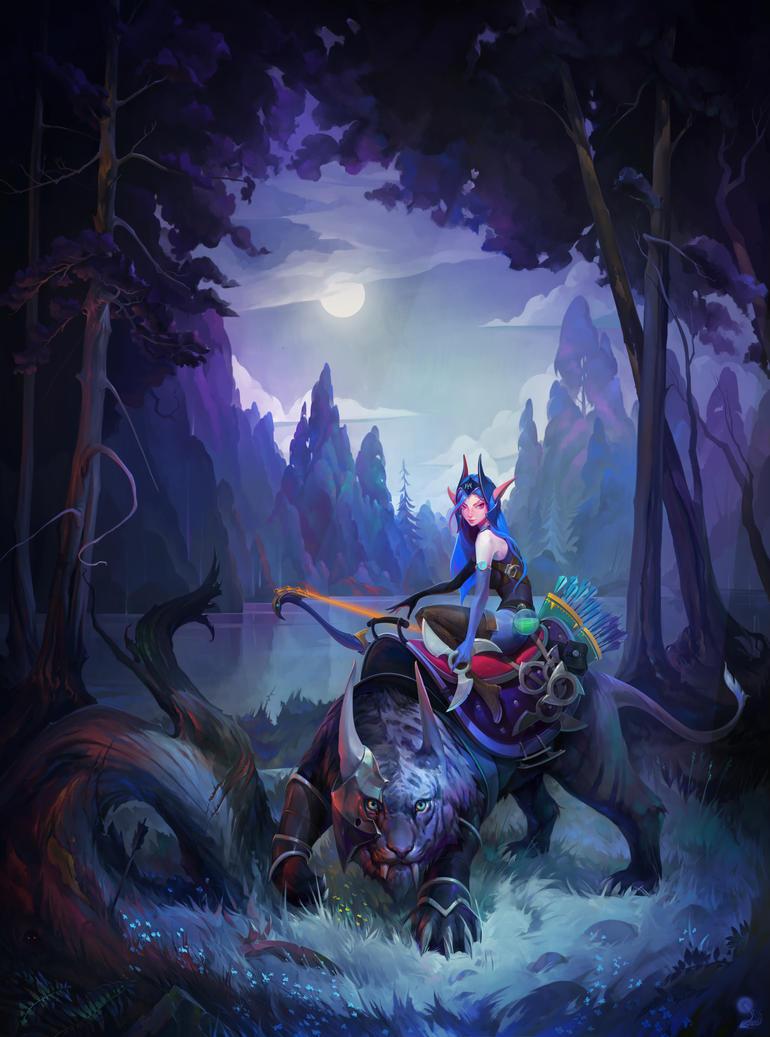 Luna by haryarti