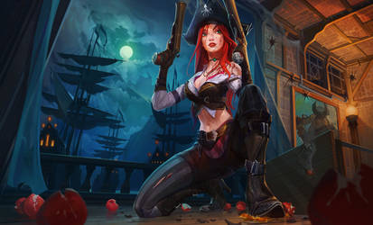 Miss Fortune by haryarti