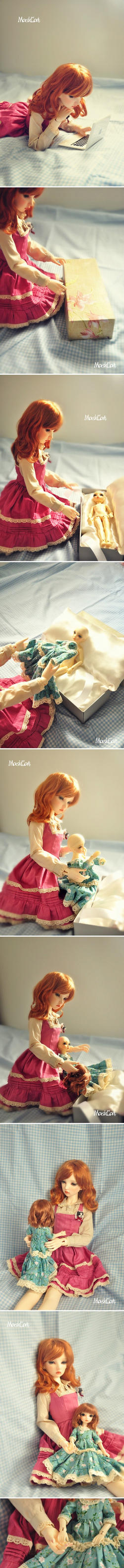 I bought a doll from MaskcatDoll by Maskcat
