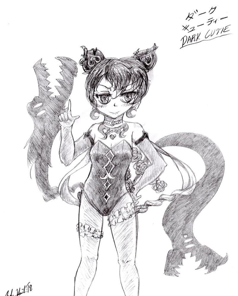 Dark Cutie Sketch by Candor-Shade