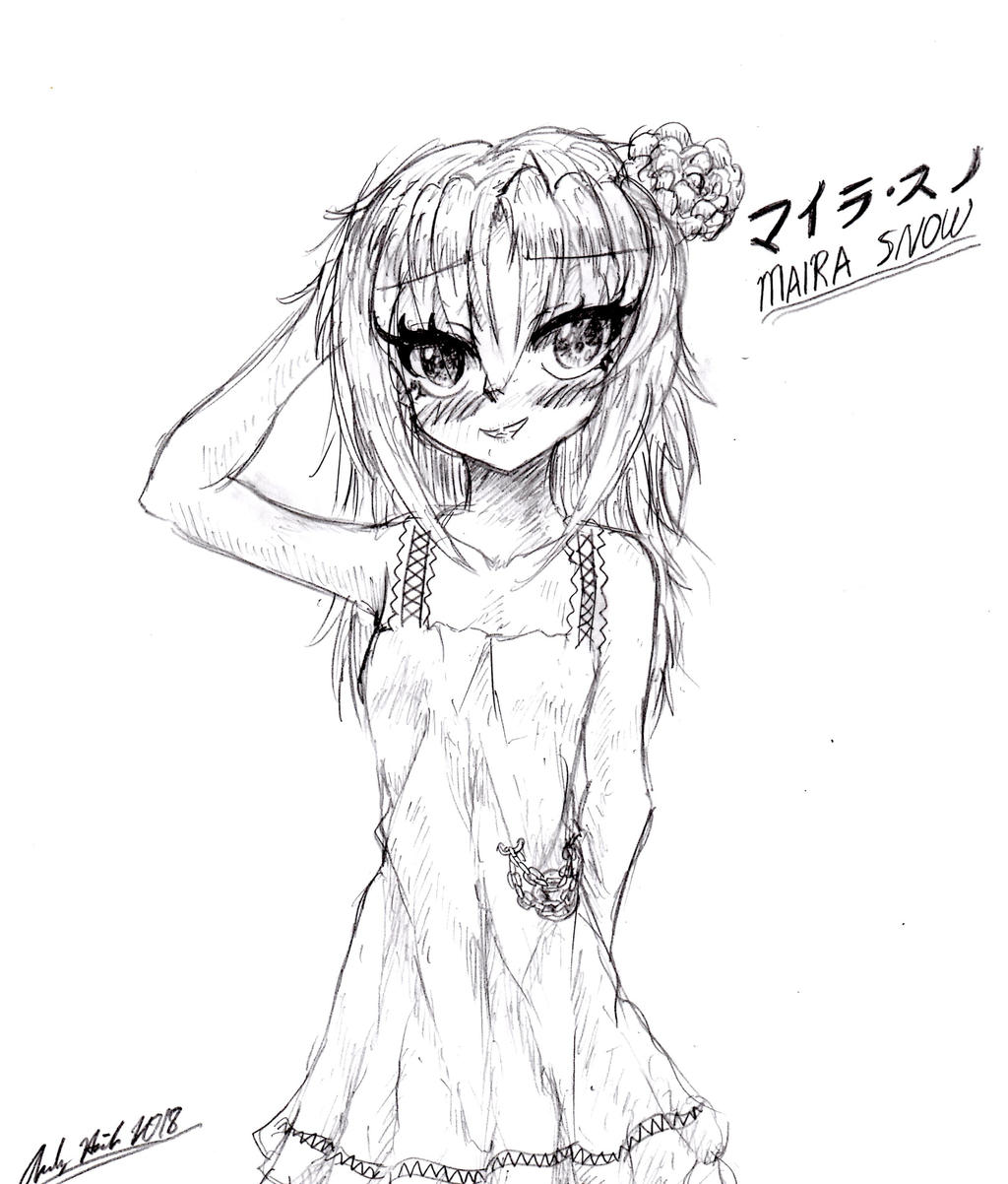 Drunk Maira Sketch by Candor-Shade