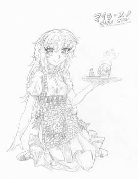 Maira and coffee