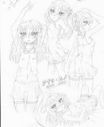 Maira sketches 4-19 by Candor-Shade