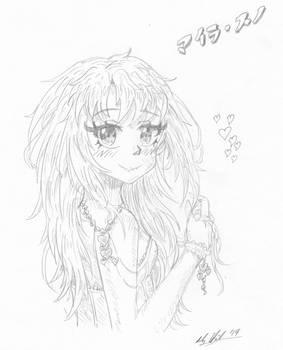 Maira turning sketch