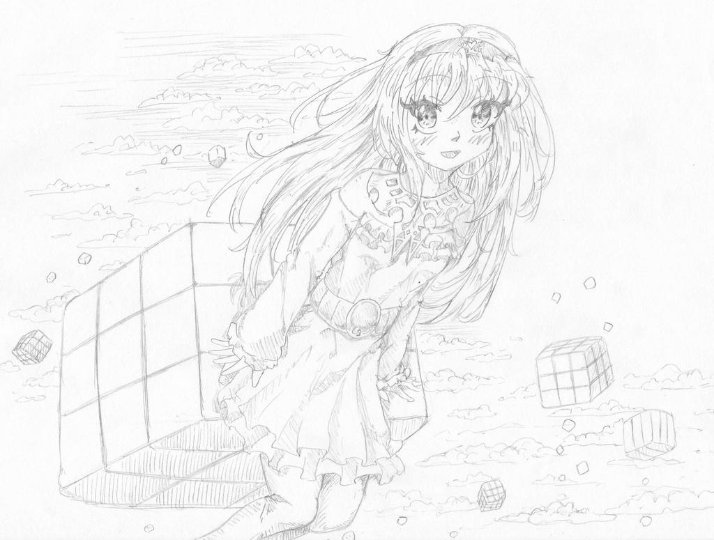 Maira 7-19 sketch by Candor-Shade