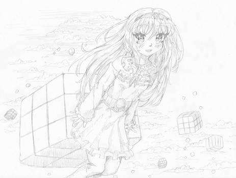 Maira 7-19 sketch