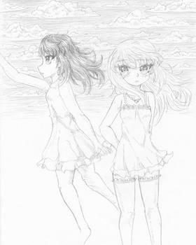 Maira and Rinne 10-19 sketch