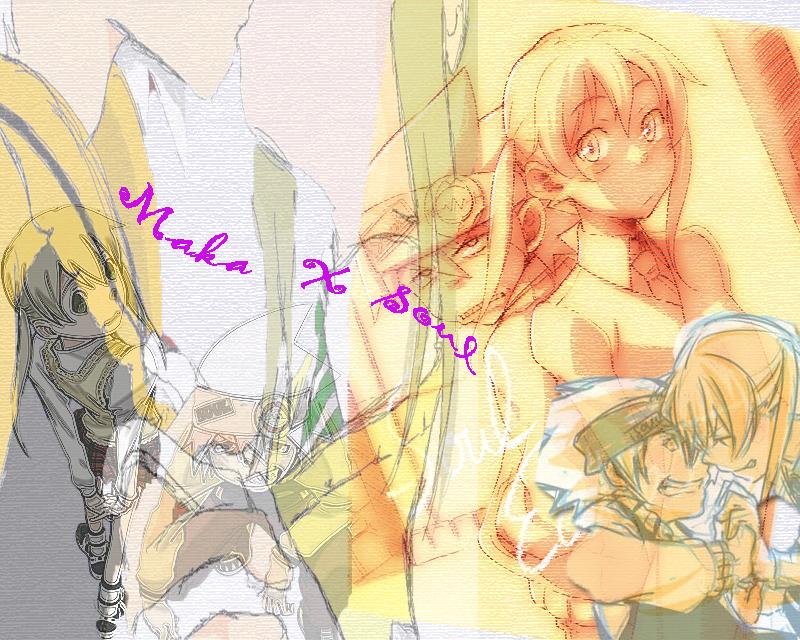 Maka X Soul by Elric-Angel