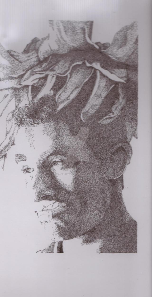 Pointillism Light Project #1 Illustration 220 by sept1992xoxblue