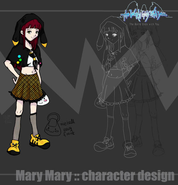 TWEWY HERO:: Mary Mary by yui-tohma