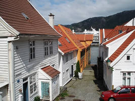 Bergen Norway by JNW-Art