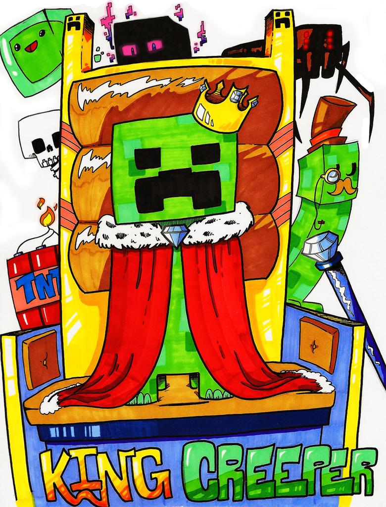 Popular Wallpaper Minecraft King - king_creeper_by_com1cr3tard-d50y73e  2018_1163100.jpg