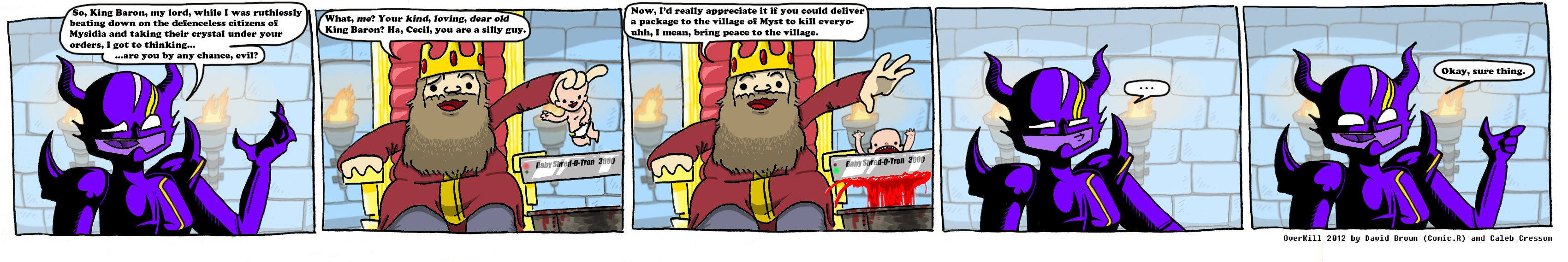 OverKill Final Fantasy IV by com1cr3tard