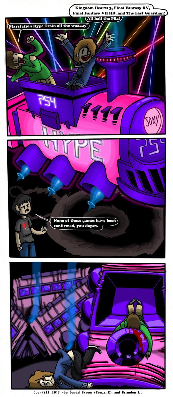 PS4 Hype Train by com1cr3tard