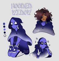 Hooded Widow! (Spidersona) by Socordiasomnia