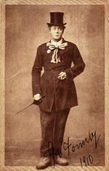 Vintage Entertainer Male 2