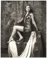 Vintage Lady Sitting 4 by Bnspyrd