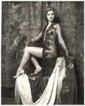 Vintage Lady Sitting 4
