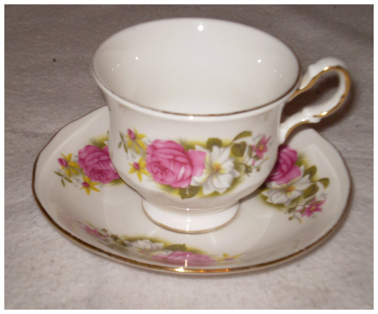 Cups and saucers vintage