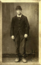 Vintage Entertainer Male 1 by Bnspyrd