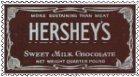 Stamp Hershey's by Bnspyrd
