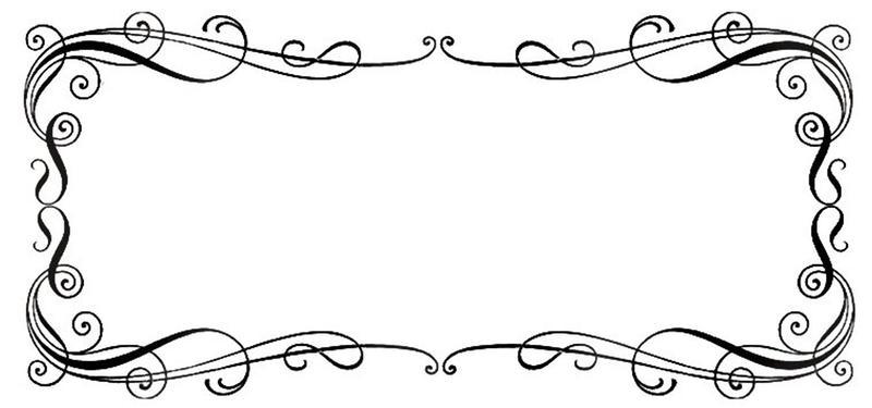 Border Lineart 8 by Bnspyrd