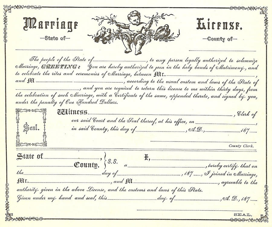 Vintage marriage certificate 1 by bnspyrd on deviantart vintage marriage certificate 1 by bnspyrd yadclub Image collections