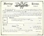 Vintage Marriage Certificate 1