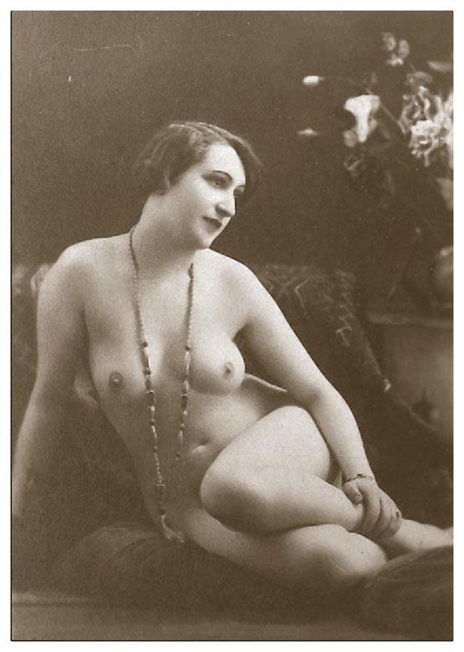 Vintage Female Nude 51 by Bnspyrd